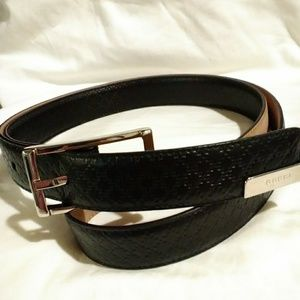 Gucci Diamante Leather Belt
